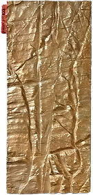 canyon wall cast impression