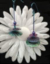 Niobium Disc Earrings