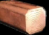 copper brass mokume rod