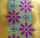 Lace tape painted niobium