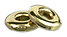 brass tori bead