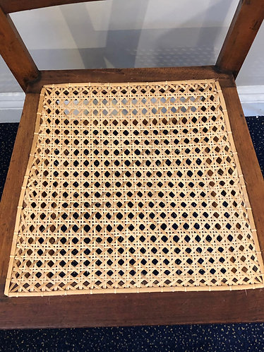 Workshop Restored Traditionally Caned Chair