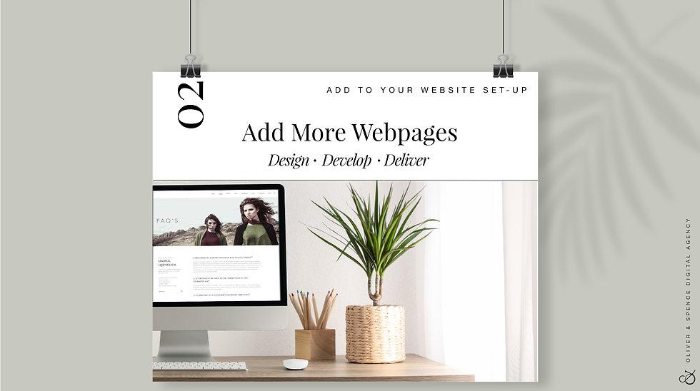 Add Webpages
