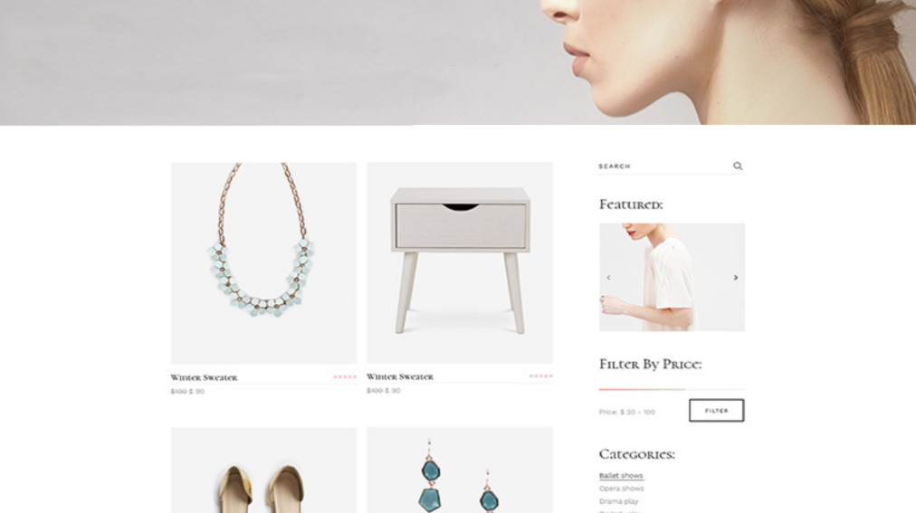Shops by Oliver Spence Online Store Side