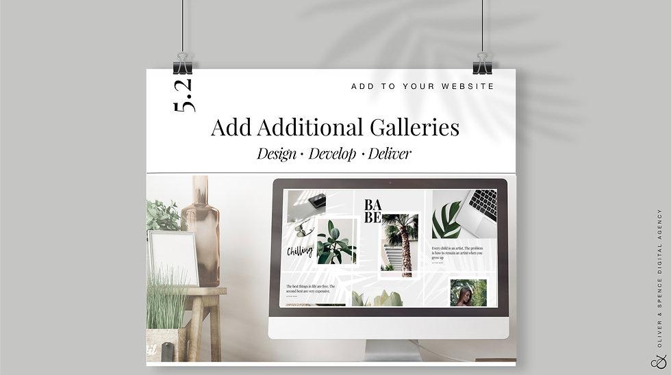 Add Additional Galleries