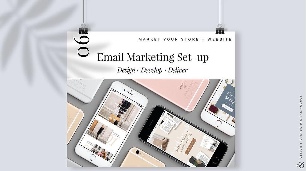 Email Marketing Set-up