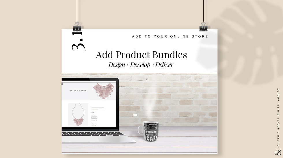 Add Product Bundles to Your Store