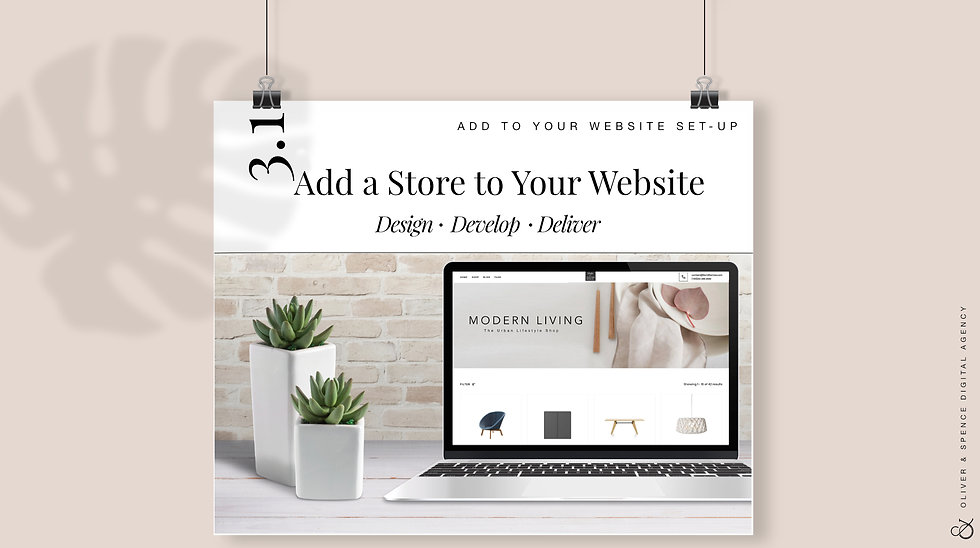 Add a Store to Your Website