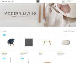 Online Store Designed by Oliver Spence Digital