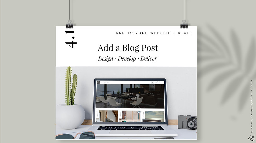 Add Additional Blog Post