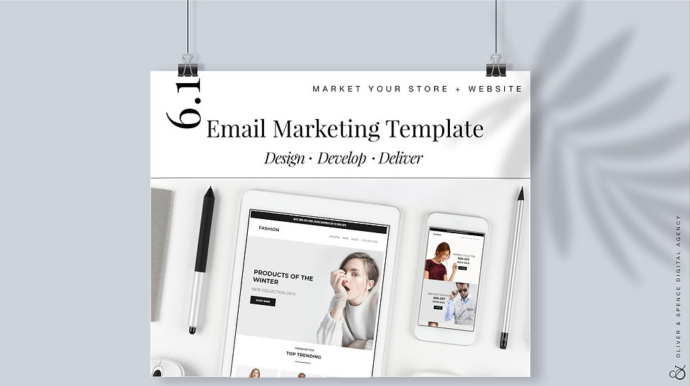 Add Email Marketing Template