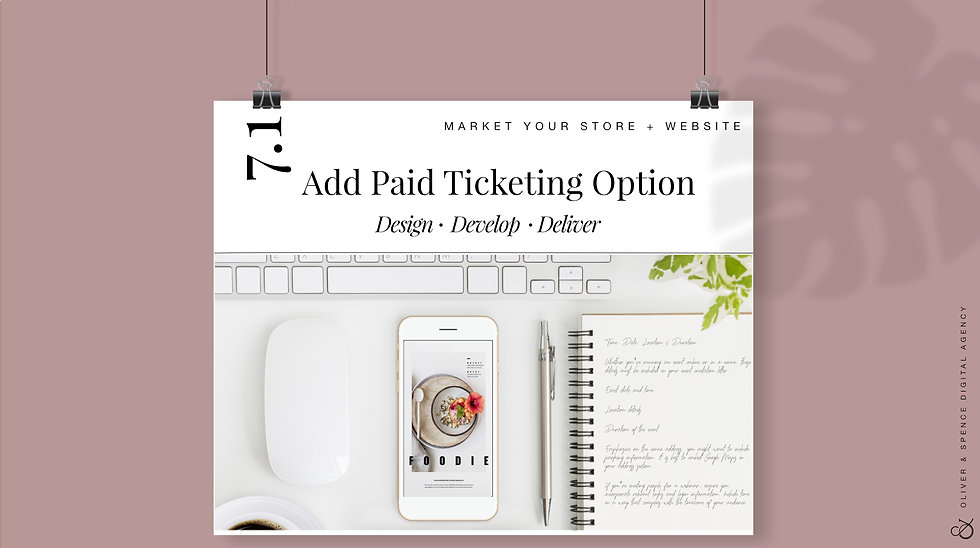 Add Paid Ticketing Option for Events