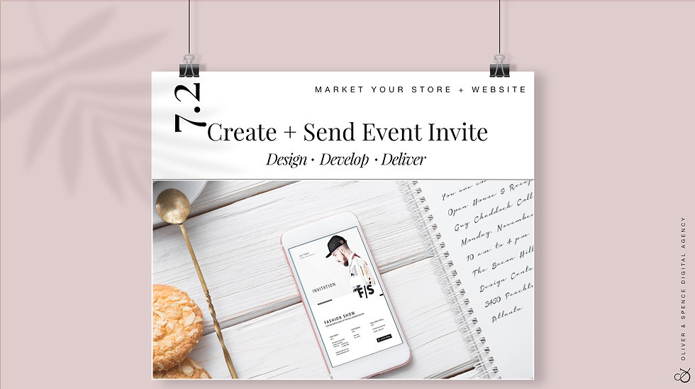 Create+ Send Out Evite to Subscribers