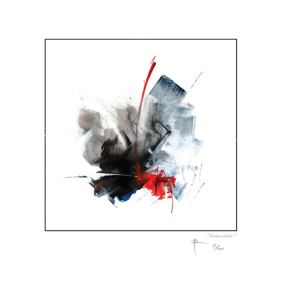 Envolée — Digital lithography