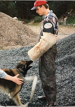 Schutzhund helper training