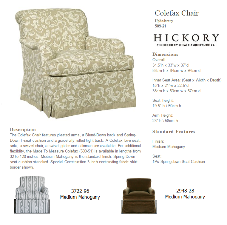 509-21 Colefax Chair
