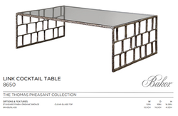 8650 LINK COCKTAIL TABLE