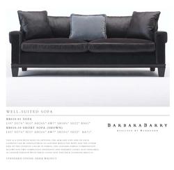 BB010-01 We l l - s U i T e d sofa