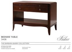 3408 BEDSIDE TABLE