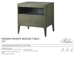 3611 MODERN MOMENT BEDSIDE TABLE