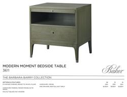 3611 MODERN MOMENT BEDSIDE TABLE
