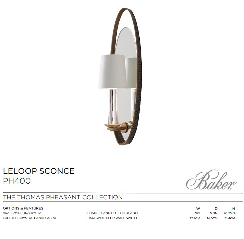 PH400 LELOOP SCONCE
