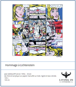Homage a Lichtenstein
