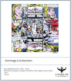 Homage a Lichtenstein