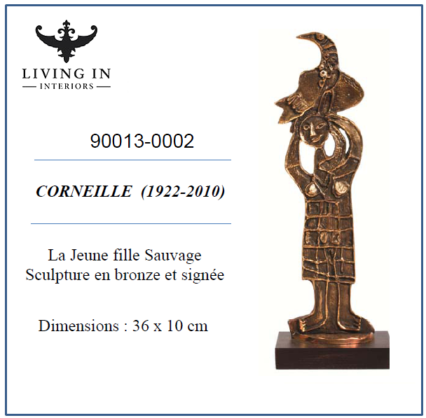 90013-0002 Corneille - La jeune fille sauvage