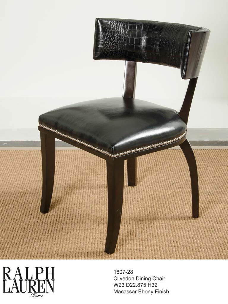 1807-28 CLIVDON DINING CHAIR