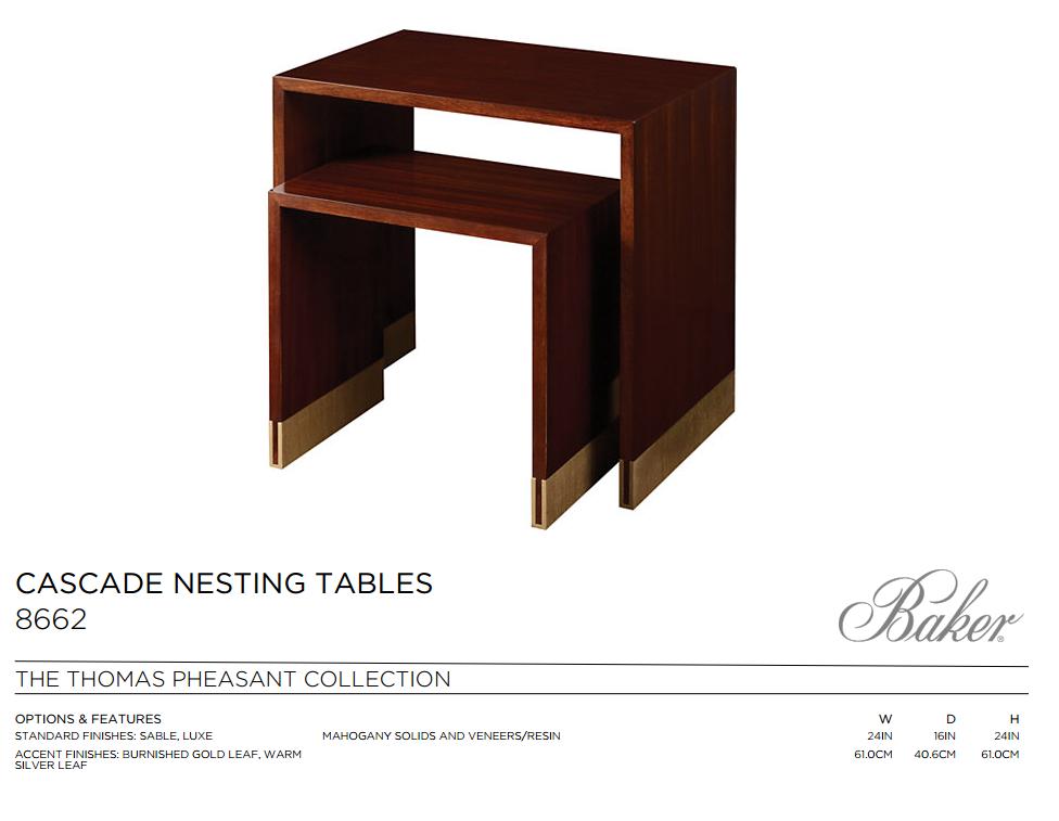 8662 CASCADE NESTING TABLES