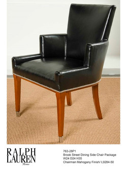 763-28P1 BROOK STREET DINING SIDE CHAIR