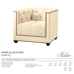 6369-32 - PARIS CLUB CHAIR