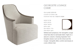50781-001  GEORGETTE LOUNGE CHAIR
