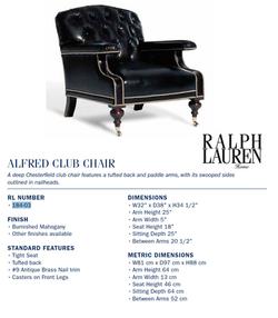 184-03 alfred club chair