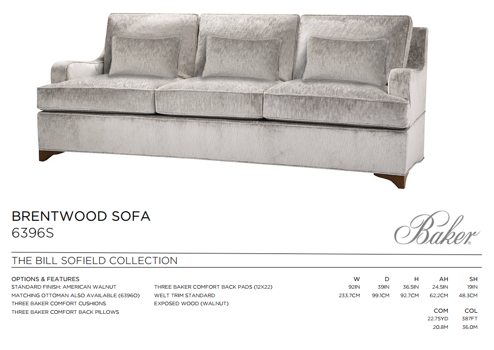 6396S BRENTWOOD SOFA