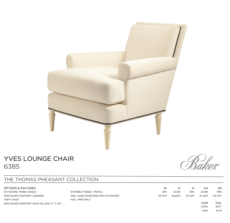 6385 YVES LOUNGE CHAIR