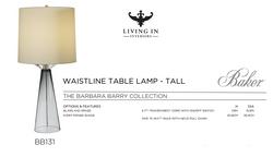 BB131 WAISTELINE TABLE LAMP - TALL