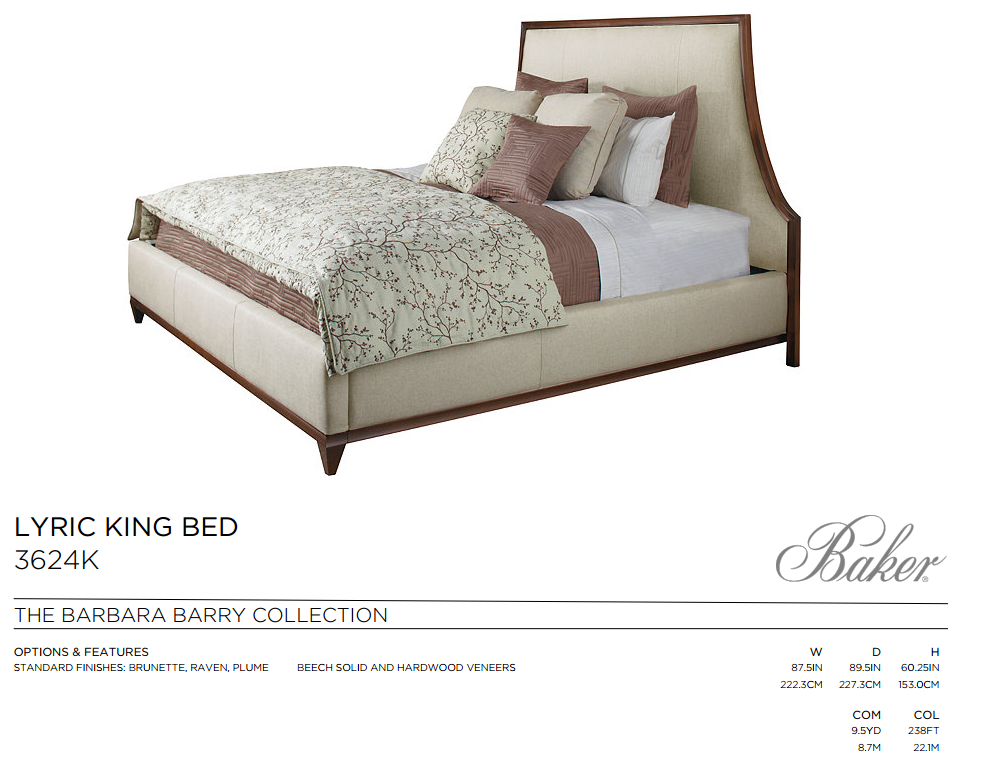 3624K LYRIC KING BED