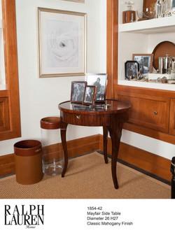 1854-42 MAYFAIR SIDE TABLE