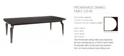 60862-001 PROMENADE DINING TABLE