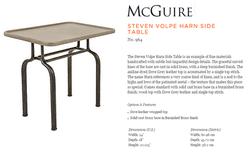 964 STEVEN VOLPE HARN SIDE TABLE