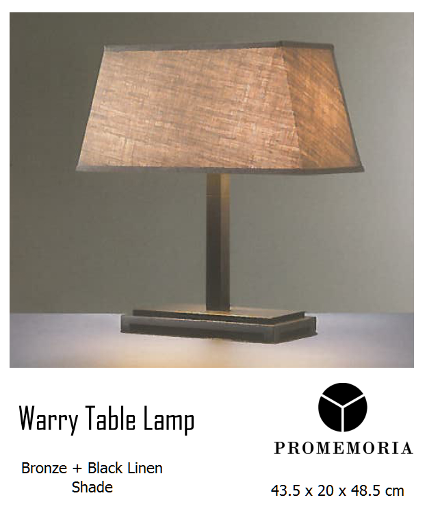 WARY TABLE LAMP