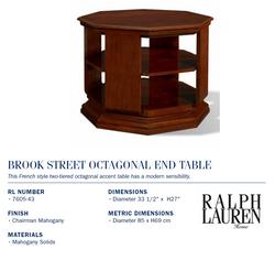 7605-43 Brook Street Octagonal End