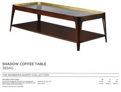 3654G SHADOW COFFEE TABLE