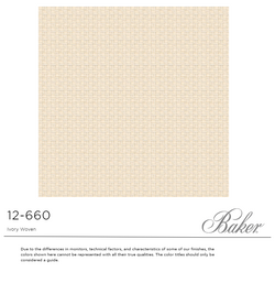 12-660 IVORY WOVEN