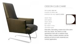 60021-001 ODEON CLUB CHAIR