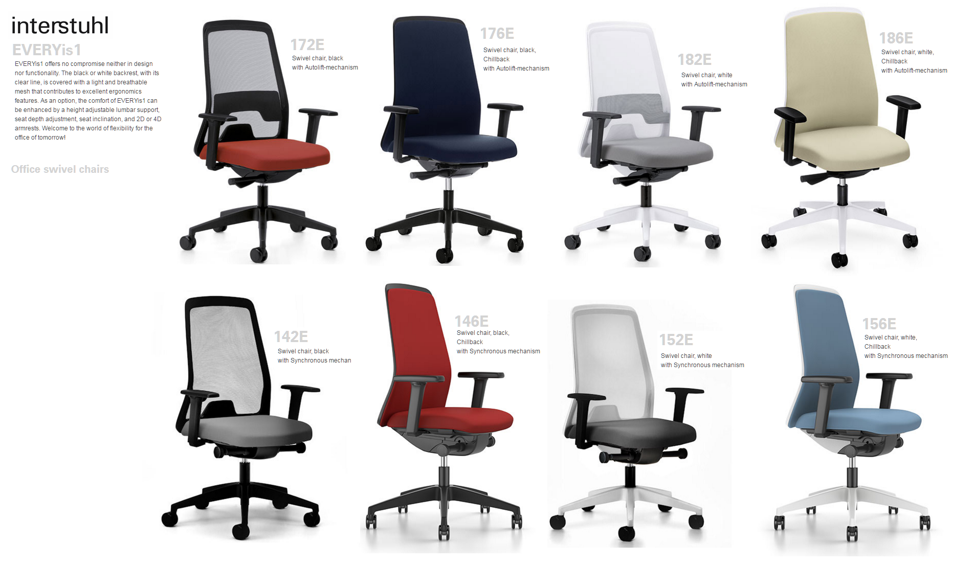 EVERYis1 SWIVEL CHAIRS