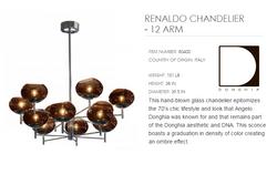 80400 RENALDO CHANDELIER