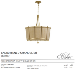BB309 ENLIGHTERNED CHANDELIER
